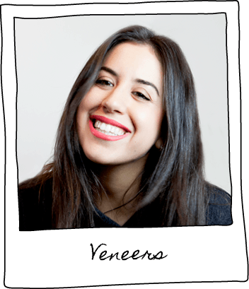 Veneers are specially made to match the natural tooth enamel, resulting in a clean, natural-looking, flawless smile.