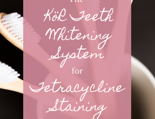 The KöR Teeth Whitening System for Tetracycline Staining
