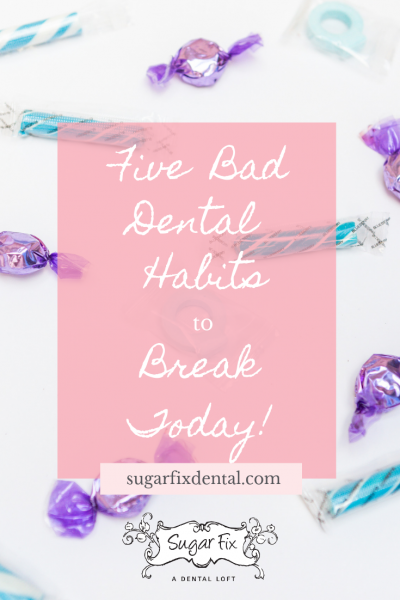 Bad Dental Habits Blog Image